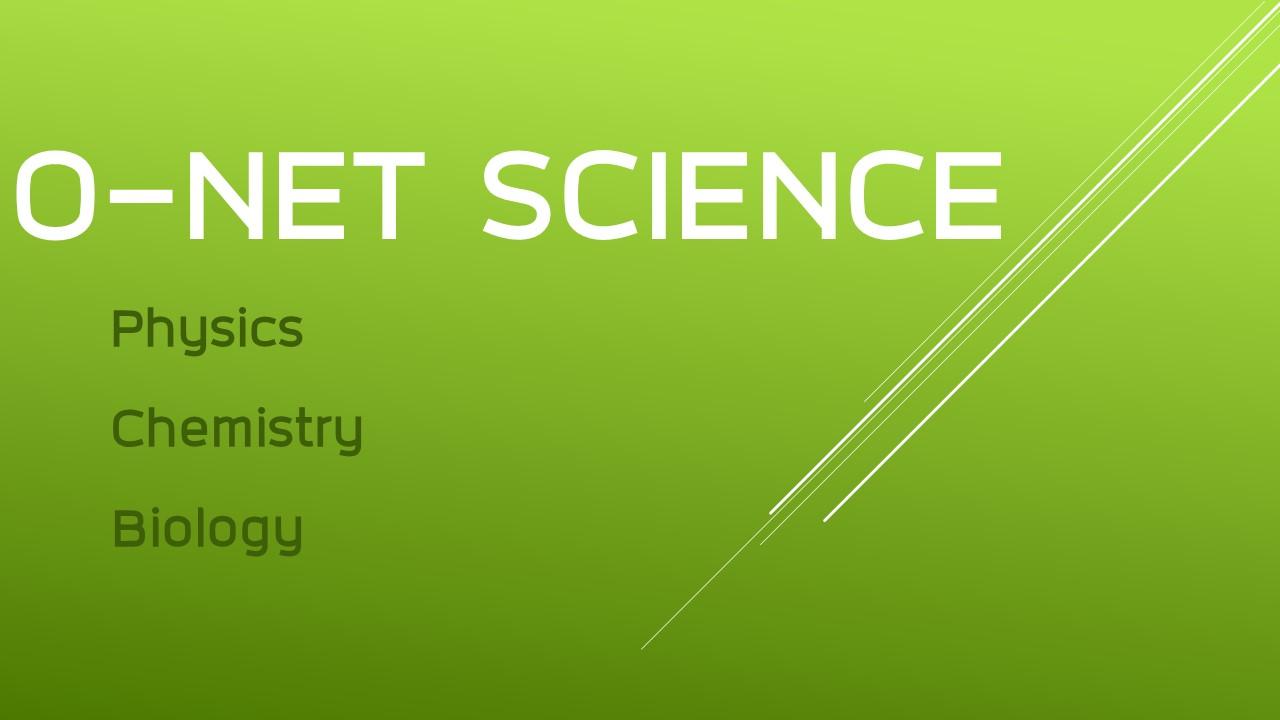 O-NET SCI